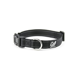 Collar de perro en nylon reflectante y ajustable en 3...